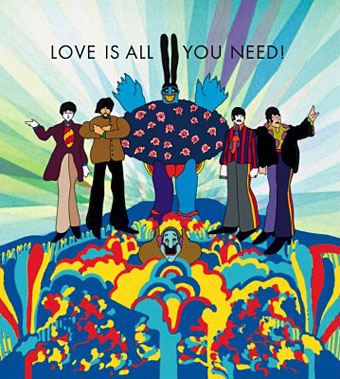 MacBreak Weekly Yellow Submarine Album Art Yellow Submarine art direction
