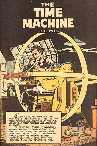 h. g. wells the time machine. HG Wells in Classics