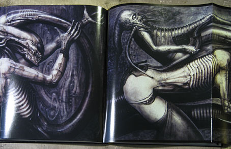 hr giger art. of Necronoms by HR Giger.