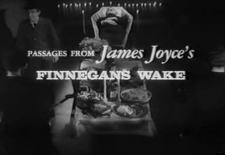 Passages from James Joyce's Finnegans Wake movie
