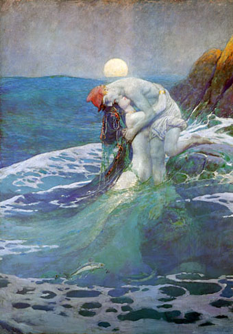 The Mermaid by Howard Pyle