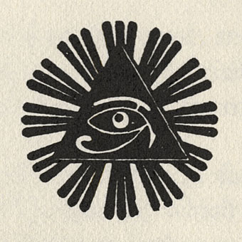 motif is the golden dawn s wedjat or eye of horus emblem as reproducedEye Of Horus Triangle Tattoo