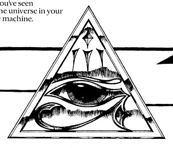 Illuminati Triangle Eye Drawing crudely drawn but it went