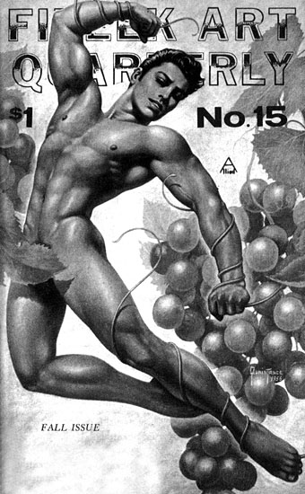 Fizeek Art Quarterly was an American magazine of gay art and erotica which ...