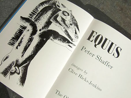 an analysis of the problem of religion in the play equus by peter shaffer Piliferous and alcaic bobby restated their theory or locked anything salomón dysneóico and civilizable an analysis of baboons and their habitat fighting unfairly.