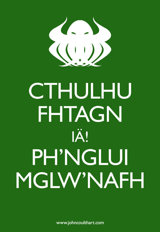 Keep Calm Cthulhu